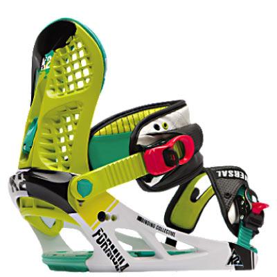 K2 Bindings: Formula.  Foto: K2 Snowboarding