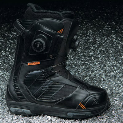 K2 Boots: Thraxis.  Foto: K2 Snowboarding