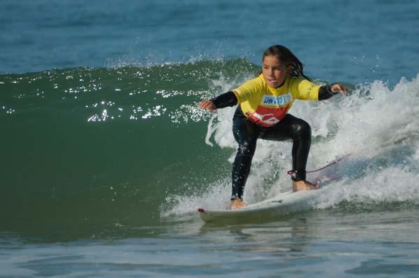 Surfnachwuchs: Jodie de Armas Tracy.  Foto: DWV