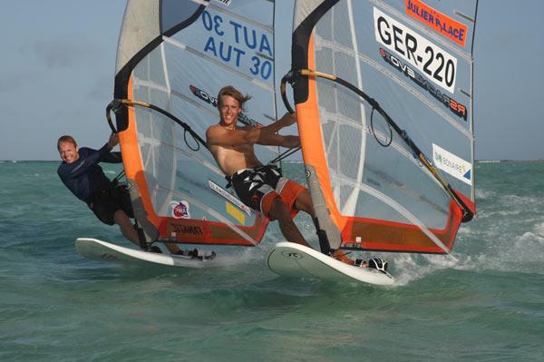 Windsurf-Profi Sebastian Kördel.  Foto: privat