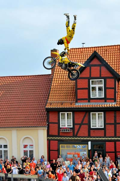 Deutschen Freestyle Motocross Meisterschaft.  Foto: Petipix.de