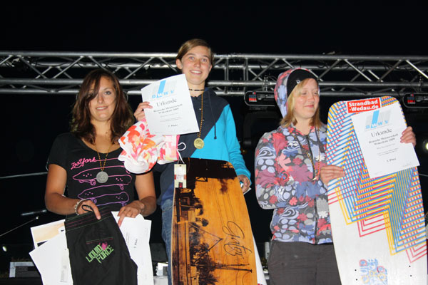Deutsche Wakeskate Meisterschaft in Heede.  Foto: Veranstalter