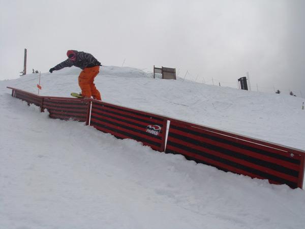 Snowboarder Manuel Bernert.  Foto: privat