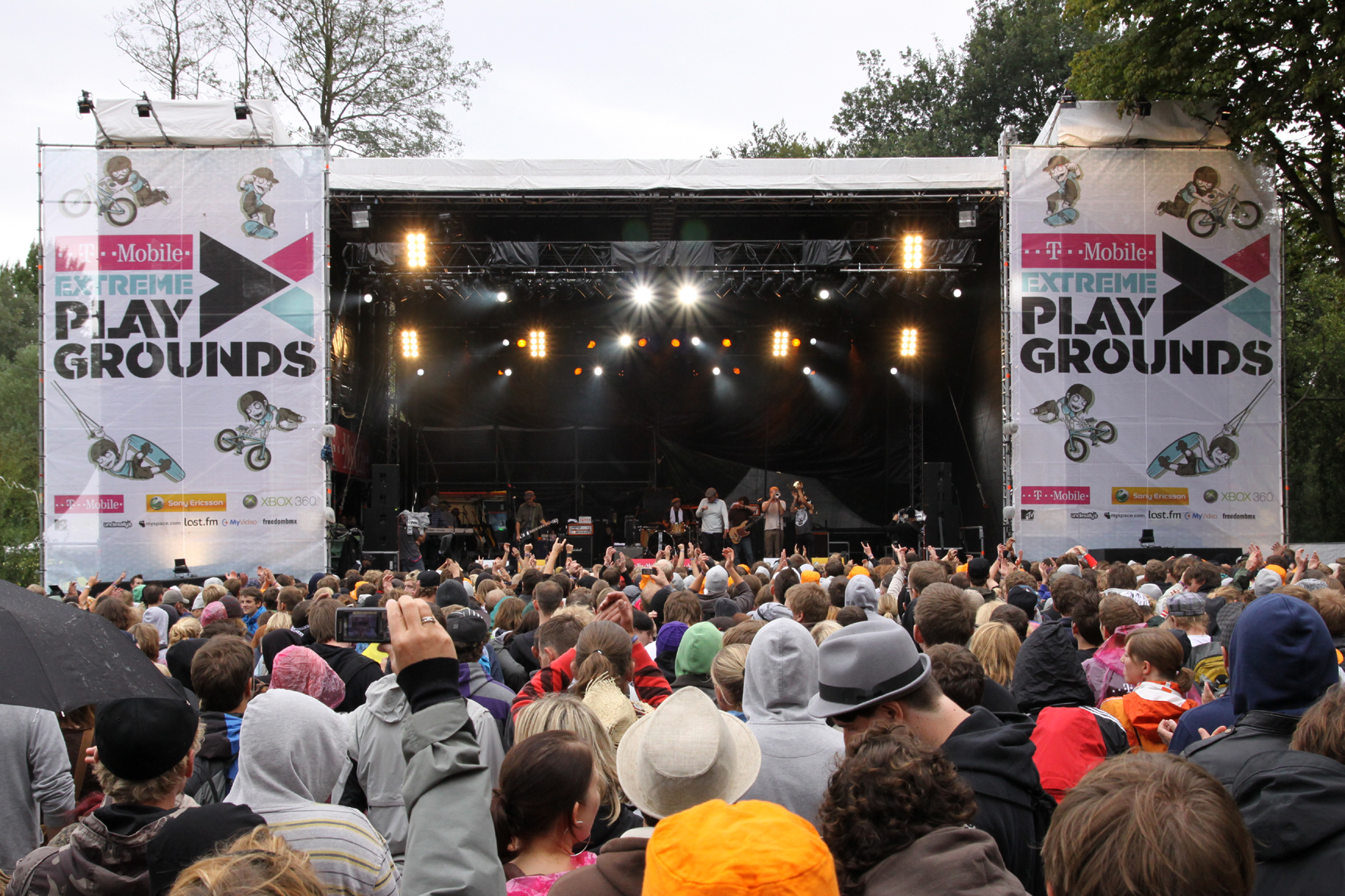 T-Mobile Extreme Playgrounds 2009.  Foto: Veranstalter