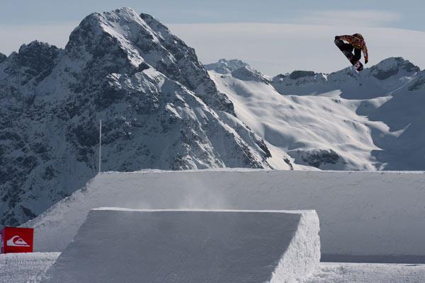 Snowboard Profi Benjamin Deeg im Interview.  Foto: Jansi Weidner
