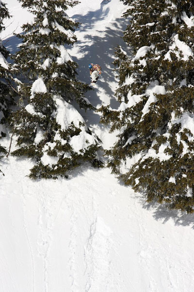 Snowboard Profi Benjamin Deeg im Interview.  Foto: Nick Johnson