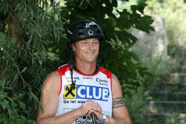 Wakeboarder Hermann Emmer.  Foto: Alexandra Pilz