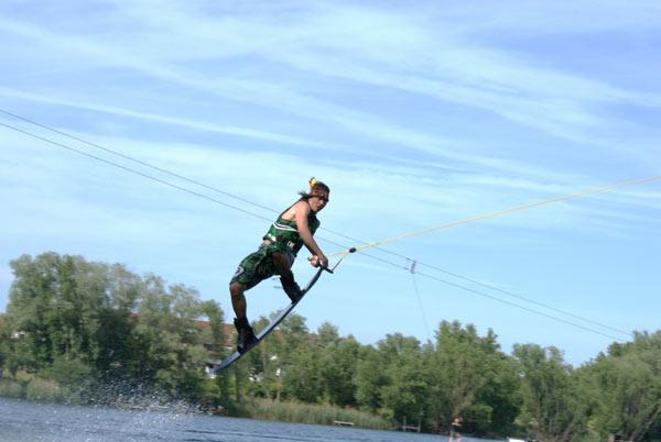 Wakeboarder Tobias Dammith im Porträt.  Foto: privat