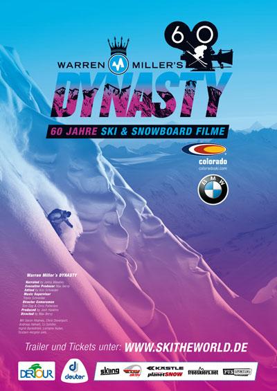 Warren Miller Plakat 2009.