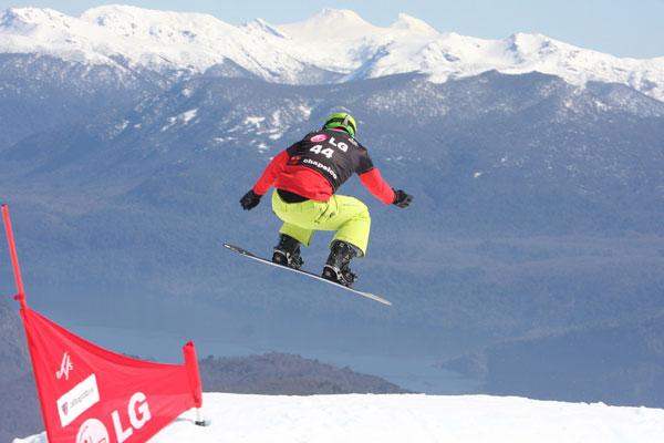 Markus Schairer beim Weltcup in Chapelco.  Foto: FIS – Florian Ruth
