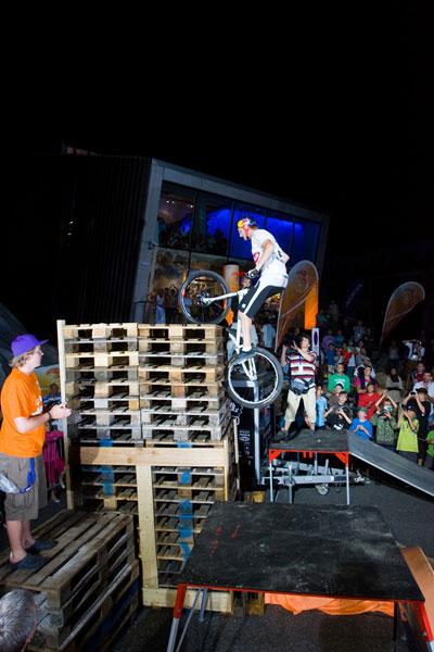 Tom Öhler gelingt neuer Weltrekord.  Foto: nyx.at