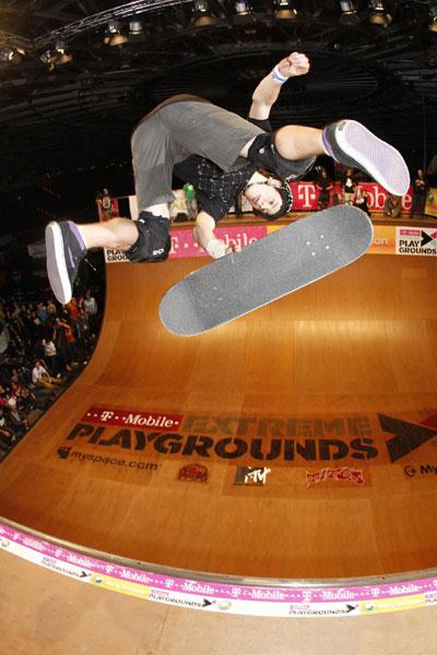Sam Beckett bei den Extreme Playgrounds 2008.  Foto: Kay Clauberg