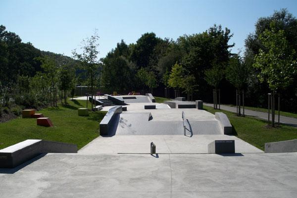 Skatepark der Landesgartenschau.  Foto: Veranstalter