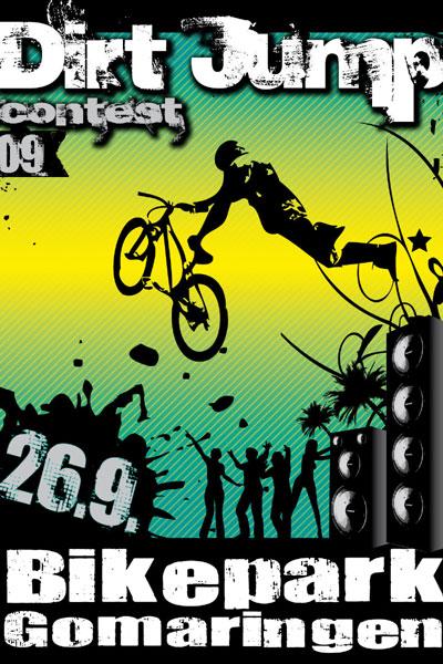 Dirt Jump Contest 2009.  Foto: Veranstalter