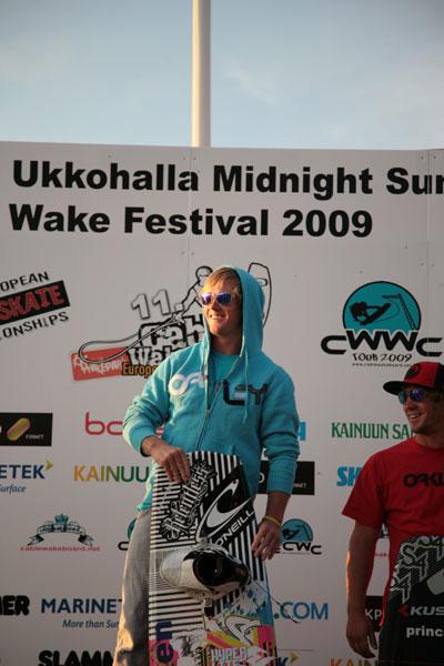 Cable Wakeboard EM 2009 Ukkohalla.  Foto: Veranstalter