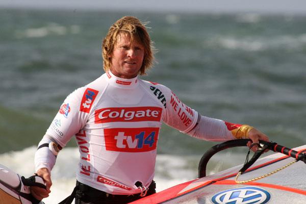 Björn Dunkerbeck auf Sylt.  Foto: Veranstalter