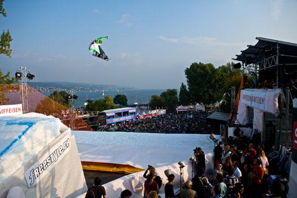 Iouri Podlatchikov aus der Schweiz.  Foto: Marc Weiler