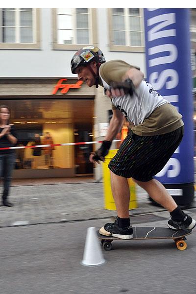 Königshausen beim Weltcup in Zürich.  Foto: Michael Brönnimann