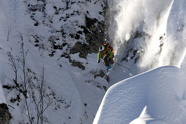 Freeride World Tour in Sochi.  Foto: Josef Hadik
