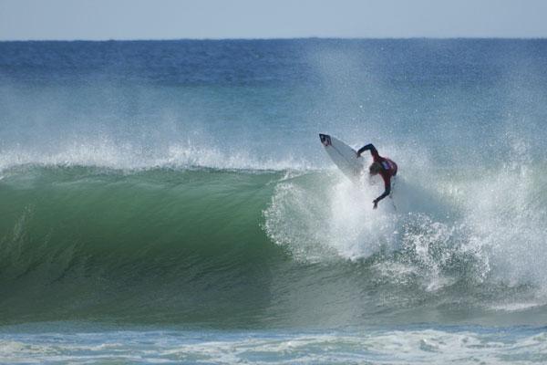 Surfer Paul Grey.  Foto: Meike Reijerman