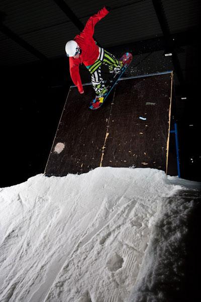 Snowpark Bispingen.  Foto: Rudi Wyhlidal