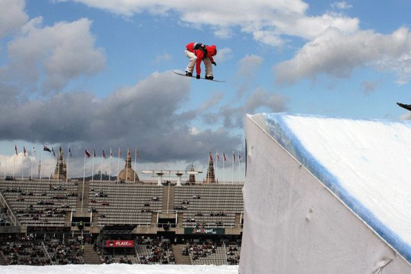 Chris Soerman in Barcelona.  Foto: FIS – Oliver Kraus