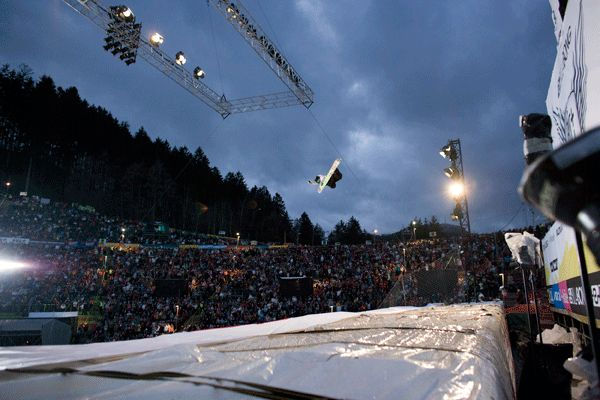 Air and Style 2008 in Innsbruck.  Foto: www.air-style.com