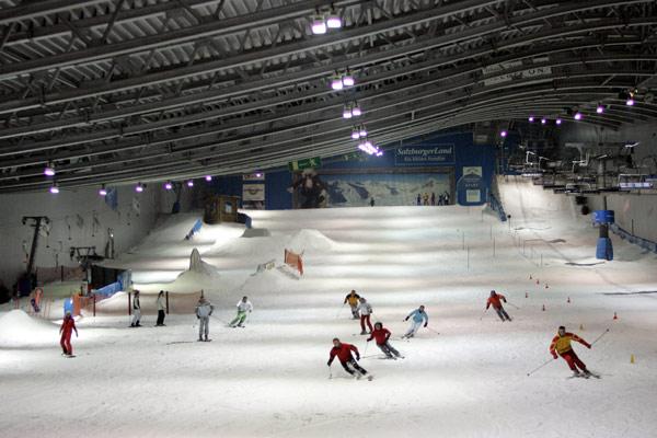 Jever Skihalle Neuss Foto: allrounder.de