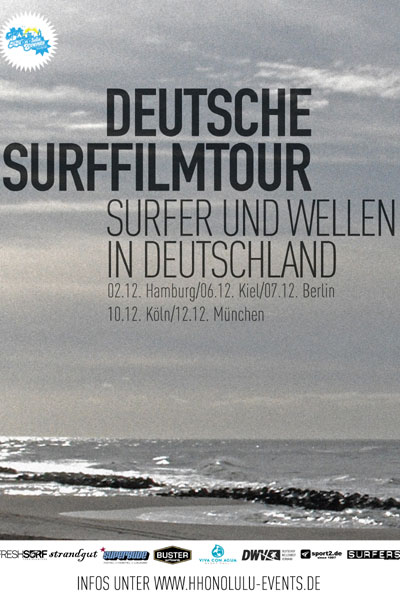 Deutsche Surffilmtour.  Foto: Veranstalter