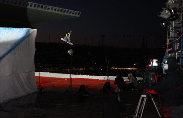 LG Snowboard FIS Weltcup 2010.  Foto: FIS-Oliver Kraus