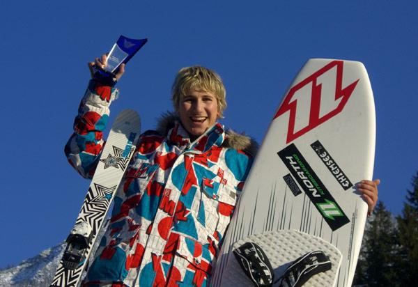 Action Sports Awards 2009: Florian Gruber ist Kitesurfer des Jahres Foto: Privat