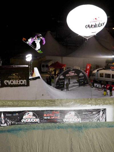 TTR World Snowboard Tour.  Foto: Veranstalter
