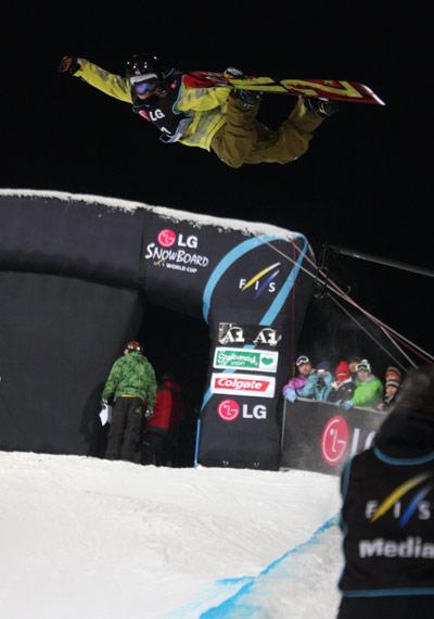 Snowboard FIS Weltcup am Kreischberg.  Foto: FIS-Oliver Kraus