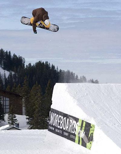 Hochkar Open 2010: größter Snowboardcontest Niederösterreichs.  Foto: Jan Zach / QParks