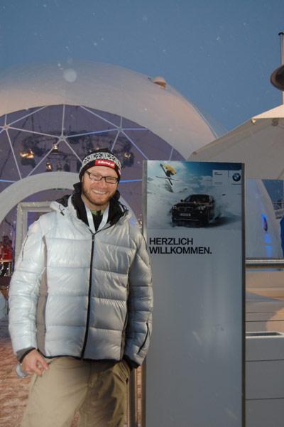 Nach getaner Arbeit: Dem ersten Kandidaten Foto: BMW AG