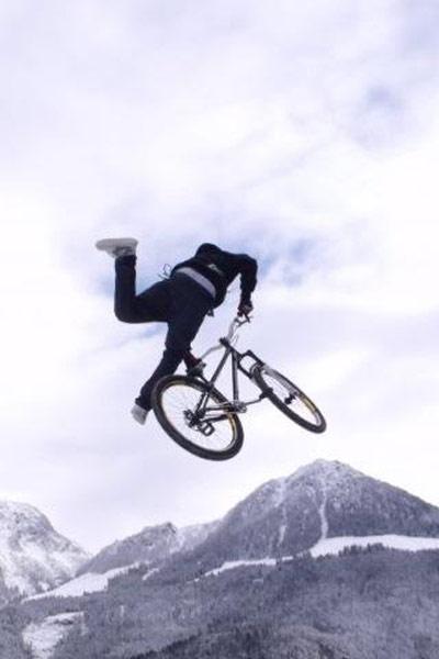 Snow MTB Dirt Jump Session im Berchtesgadener Land Fotos: Phips Walkner, Sabrina Eder