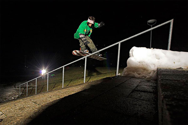 King of Snow: Frontside 540°  in Runde vier  Foto: Lorenz Holder