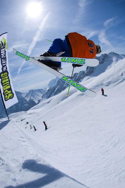 Spring in the Park 2010: Snowboarder und Freeskier Camp auf der Zugspitze Foto: Spring in the Park - Alex Schneider