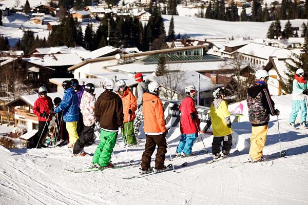 freeskiers.net Style Camp 2010 Auftakt im Kleinwalsertal Foto: Veranstalter