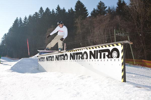 Stick a Trick 2010: Snowboard Railbattle im K.O.-System Foto: Veranstalter