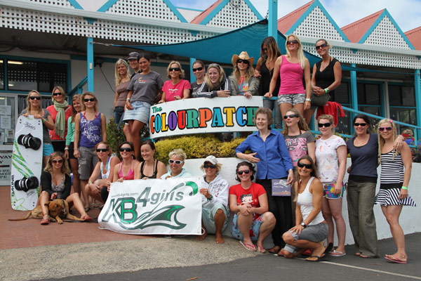 KB4Girls 2010 World Kitetour Camp in Augusta.  Foto: KB4Girls World Tour Kite-boarding
