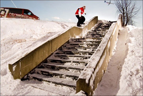 King of Snow: BS Noseslide in Runde Sechs Foto: Veranstalter
