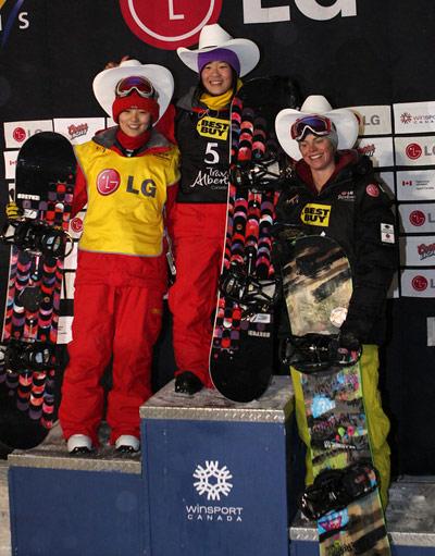 FIS Weltcup: Sun und Longo gewinnen Halfpipe in Calgary  Foto: FIS-Oliver Kraus
