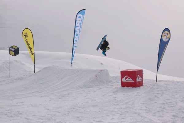 Snowballwar im Diedamspark.  Foto: Sebi Madlener
