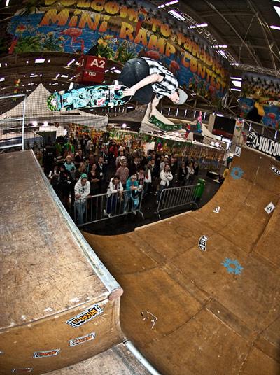 Volcom Mini-Ramp Contest ISPO 2010 München Foto: Volcom Europe
