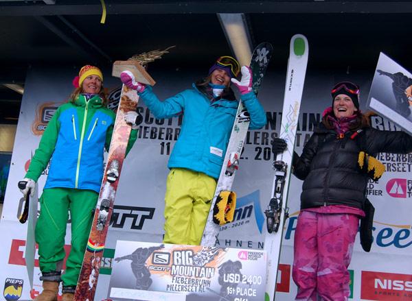 Freeride World Tour 2010: Enderud gewinnt bei Comeback in Österreich Foto: Veranstalter