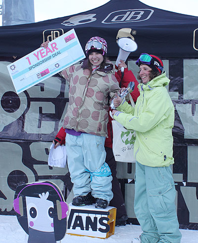 Sista Sessions 2010: Girls Rocken Mayrhofen Foto: Billabong