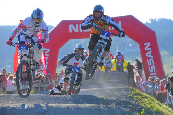 Bike Festival 2010: Four-Cross Europameisterschaft in Willingen Foto: Veranstalter