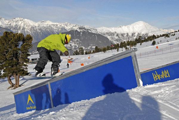 Oberland Open 2010: Freestyler kommen nach Ladis Foto: Veranstalter