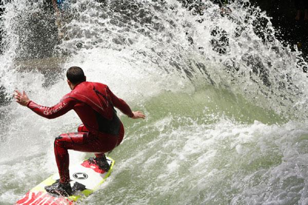 Keep Surfing.  Foto: Björn Richie Lob